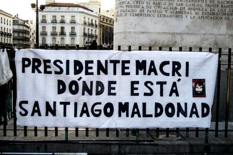 Madrid, 2017 - ¿Dónde está Santiago Maldondo?
