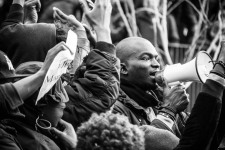 Manifestación en Lavapiés